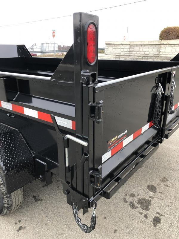 2019 Sure-Trac 7x12' LowPro Dump Trailer 9900# * DUAL PISTON - BASE