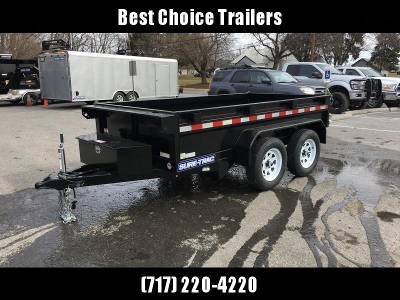 2019 Sure-Trac 5x10 Low Profile Homeowner Dump Trailer 7000# GVW