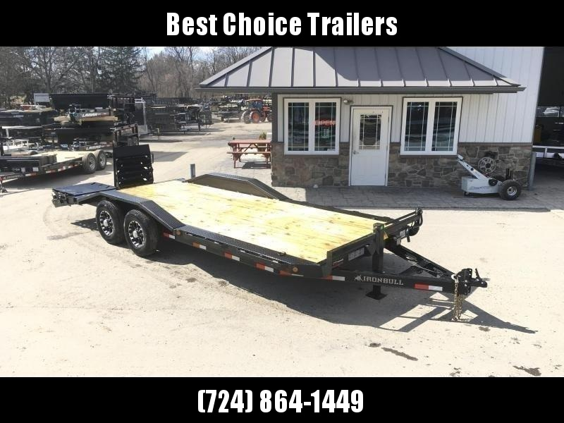 "2019 Ironbull 102x24' Equipment Trailer 21000# GVW * TRIPLE AXLE * FULL WIDTH RAMPS * 102"" DECK * DRIVE OVER FENDERS * 8"" FRAME UPGRADE"