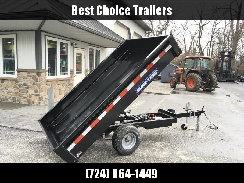 2019 Sure-Trac 4 5x8 Utility Dump Trailer 2990# GVW w Ramps