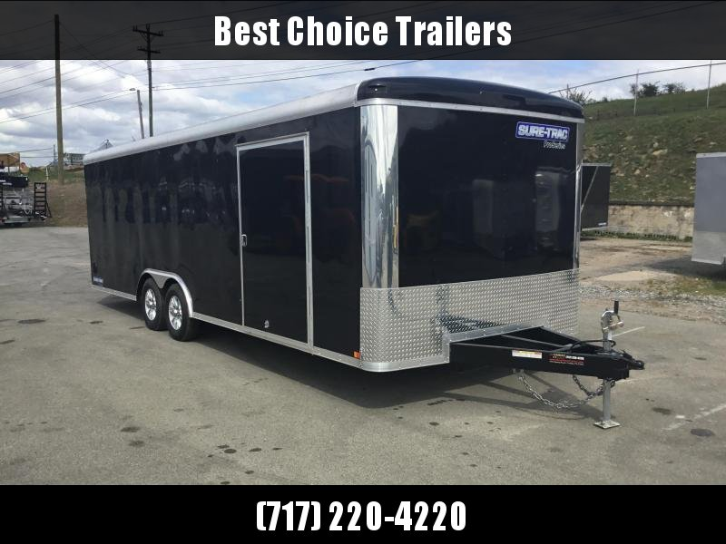 2018 Sure-Trac 8.5x24' Enclosed Car Trailer 9900# GVW - STRCH10224TA-100