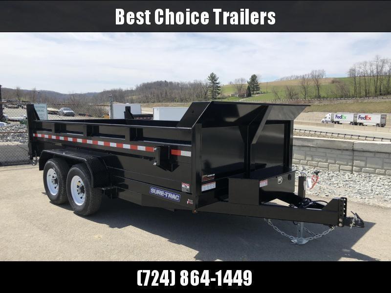 2019 Sure-Trac 7x14' LowPro HD Dump Trailer 14000# GVW