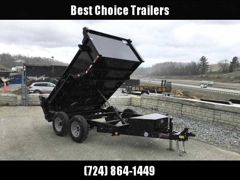 2018 QSA 6x10' Low Profile SD Dump Trailer 9850# GVW