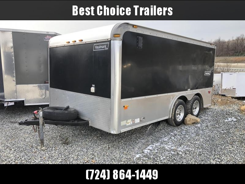 USED 2006 Haulmark 8x14' Enclosed Motorcycle Trailer * CUSTOM BUILT FOR BIKES * LOADED