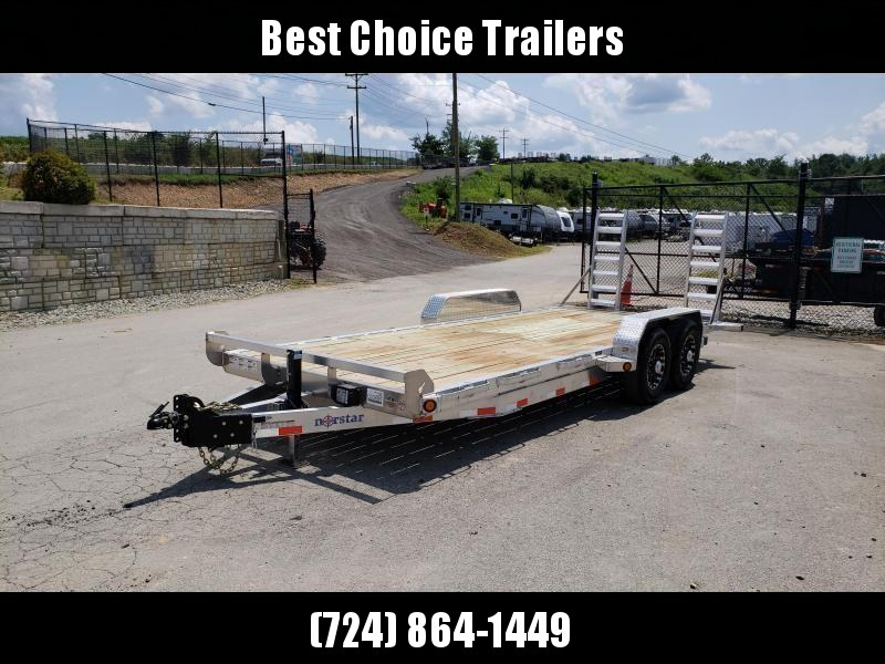 2019 Ironbull 7x20' Aluminum Equipment Trailer 14000# GVW * ALUMINUM FRAME * STAND UP RAMPS * ALUMINUM WHEELS * LOTS OF TIE DOWNS
