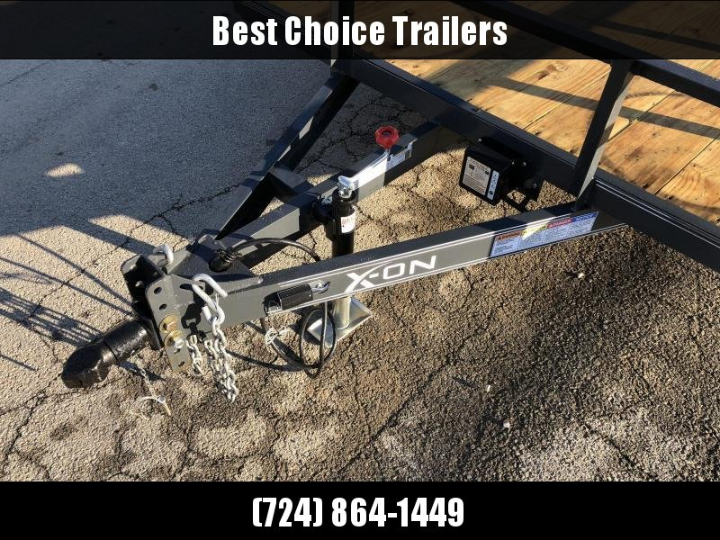 2019 X-On 77x16' Utility Landscape Trailer 7000# GVW * CHARCOAL