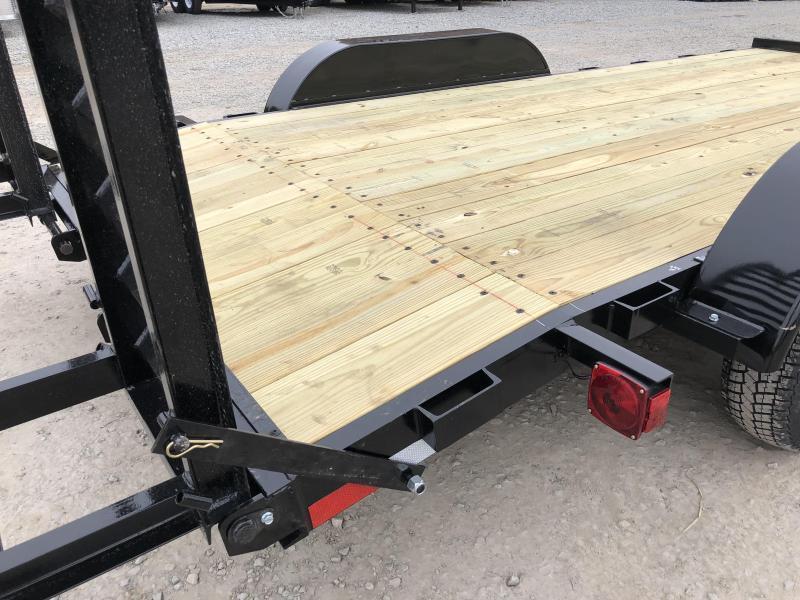2018 AMO 7x16' Equipment Trailer 9990# GVW * CLEARANCE PRICED