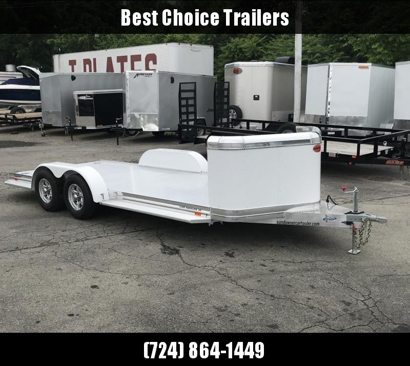 2019 Sundowner Trailers 7x19' 8050# GVW CH19BP * DELUXE ALUMINUM * TORSION * EXTRUDED * POLISHED * PAINTED FENDERS * 3' STONEGUARD * UPGRADED RUBBER * RUNNING BOARDS * CLEARANCE in Ashburn, VA