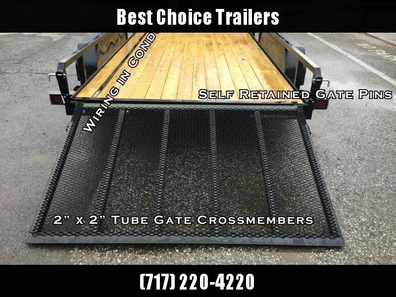 2020 Sure-Trac 7x14' Tube Top Utility Landscape Trailer 7000# GVW