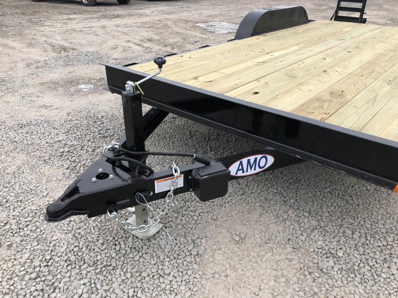 2019 AMO 7x16' Equipment Trailer 9990# GVW * ALL LED LIGHTS