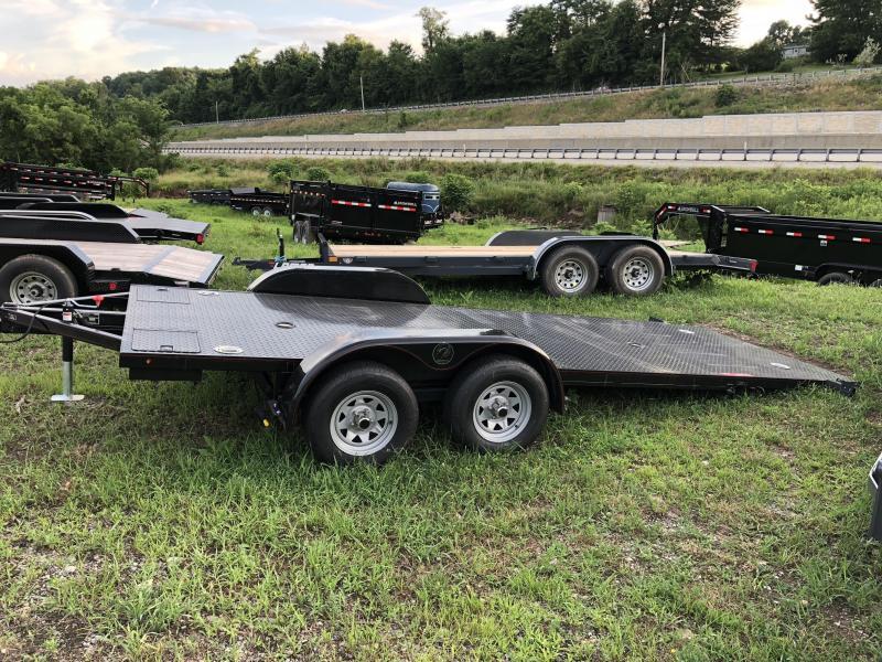 "2019 Kwik Load 7x20' 7000# ""Texas Rollback"" Low Angle Car Trailer * CLEARANCE - FREE ALUMINUM WHEELS"
