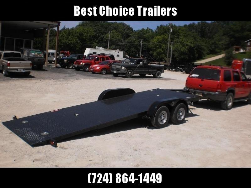 2018 Kwik Load 7x18' Texas Rollback Car Trailer 7000# GVW * CLEARANCE - FREE ALUMINUM WHEELS