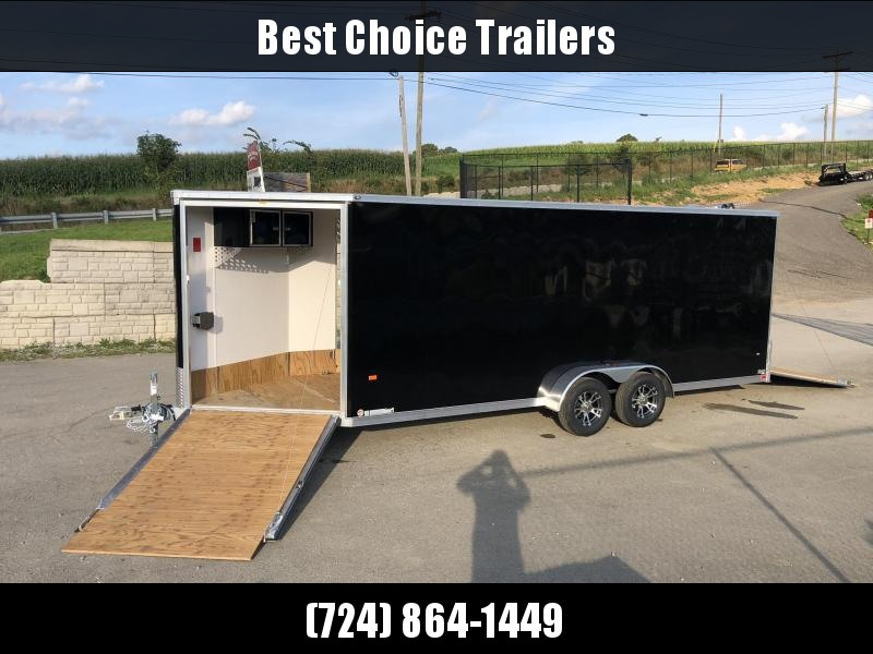 2020 Neo 7x26' Aluminum Enclosed All-Sport Trailer * 7' HEIGHT - UTV PKG * CHARCOAL * FRONT RAMP * LOADED * UTV * ATV * Motorcycle * Snowmobile