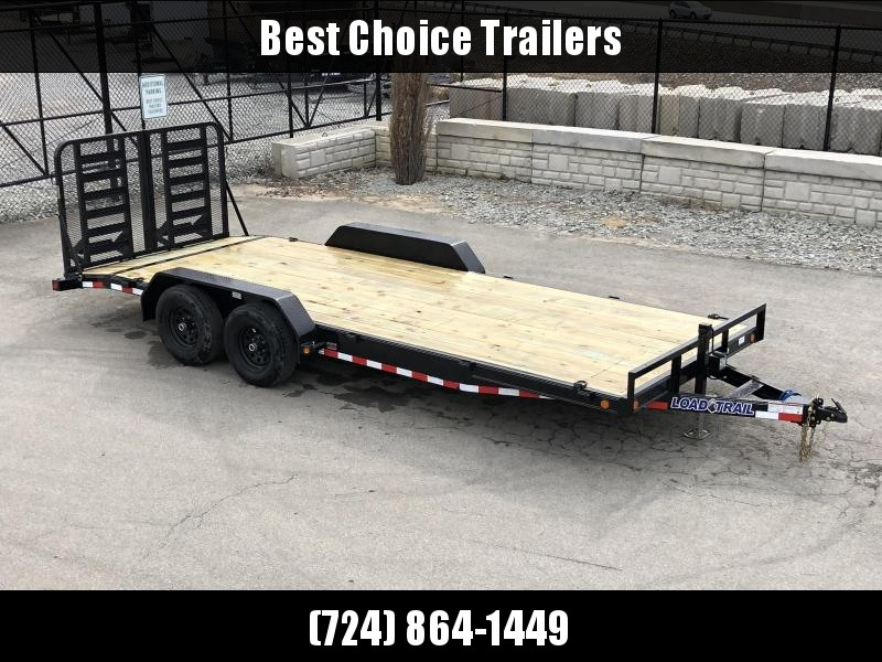 2019 Load Trail 7x20' Car Hauler Trailer 9990# GVW * CH8320052 * HD SPLIT GATE * D-RINGS * COLD WEATHER HARNESS * DEXTER'S * 2-3-2 * POWDER PRIMER