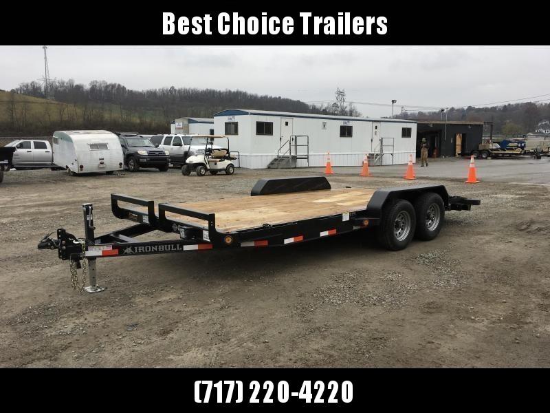 2019 Iron Bull 7x16' Wood Deck Car Trailer 9990# GVW in Ashburn, VA