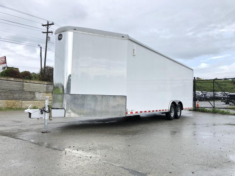 NEW Wells Cargo EW2425W-V Commercial Enclosed Cargo Trailer 14000# GVW * LOADED MODEL * COMMERCIAL CONTRACTOR/LANDSCAPER TRAILER