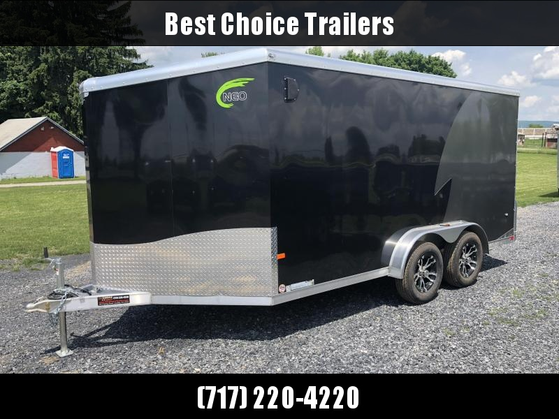 2018 NEO Trailers NAM1475TR74 Enclosed Cargo Trailer