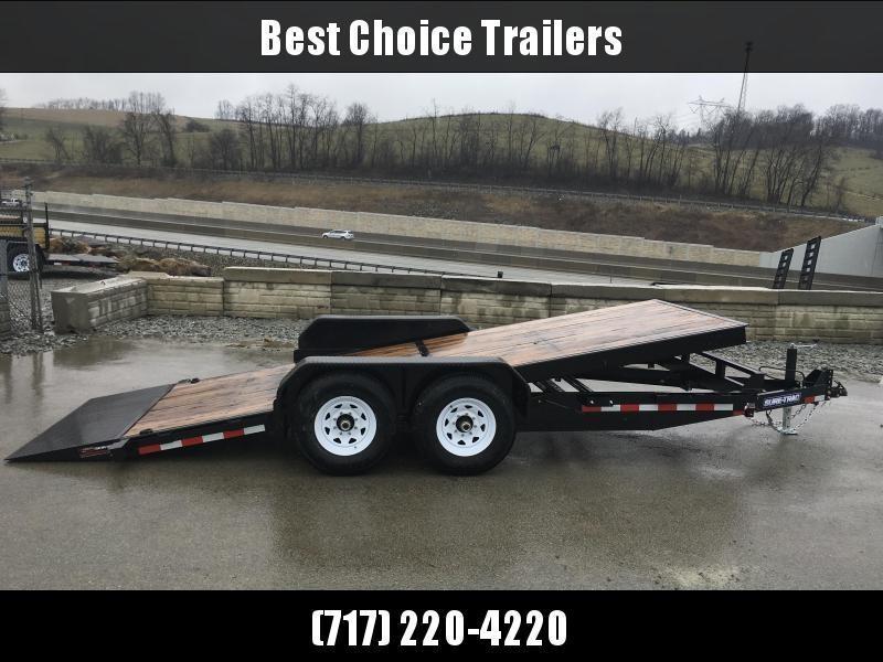 2018 Sure-Trac Gravity Tilt Bed Equipment Trailer 7'x18' 14000#