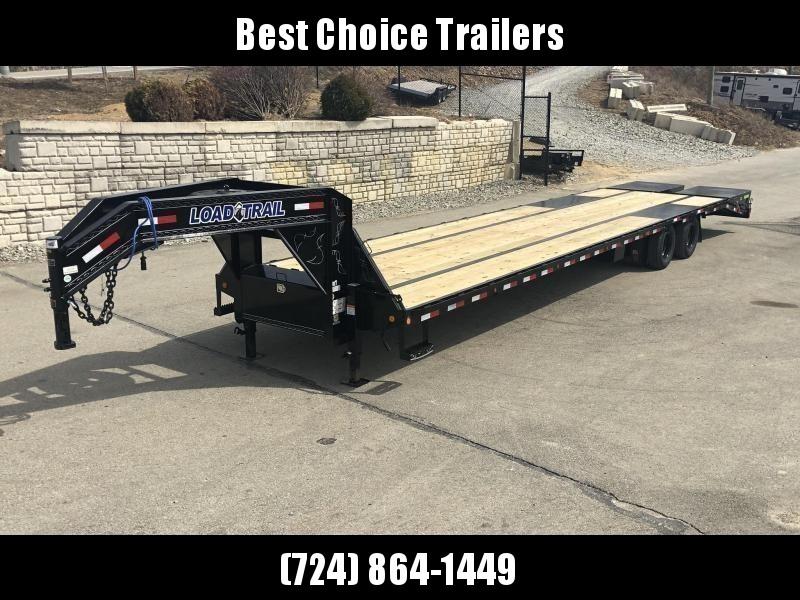 2019 Load Trail 102x25' Gooseneck Beavertail Deckover Flatbed 22000# Trailer * GP0225102 * MAX Ramps * HDSS Suspension * Dexter Axles