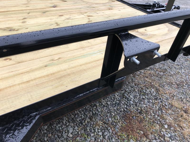 2019 MAXXD 7x16' Tandem Axle Utility Landscape Trailer 7000# GVW U3X8316 * PIPE TOP * SPRING ASSIST * HD GATE MODEL * EQUIPMENT FENDERS