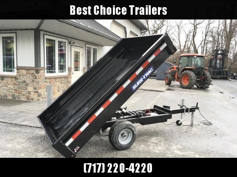 2020 Sure-Trac 4.5x8 Utility Dump Trailer 2990# GVW w Ramps