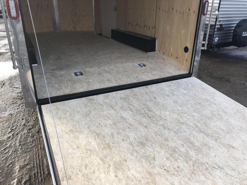 2019 Sure-Trac 8.5x16' Enclosed Cargo Trailer 9900# GVW * SILVER * CONTRACTOR/LANDSCAPER TRAILER