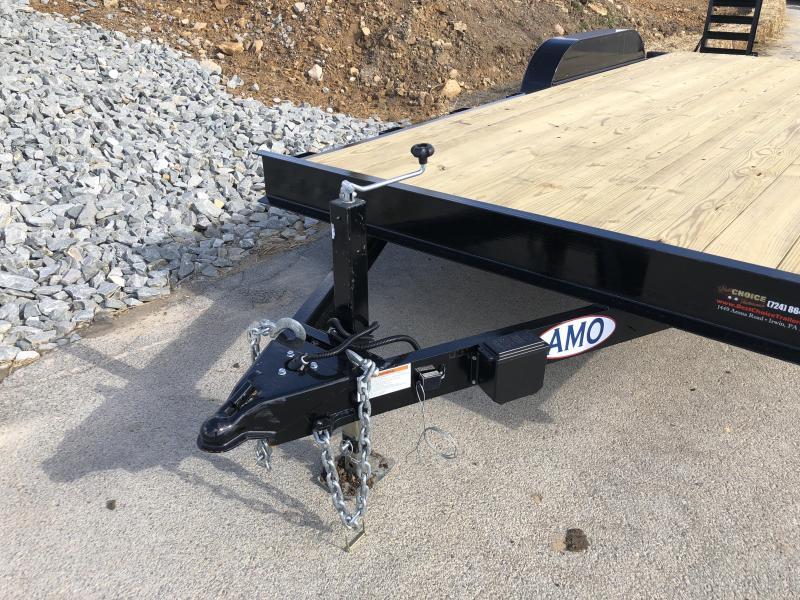2018 AMO 7x18' Equipment Trailer 9990# GVW * CLEARANCE