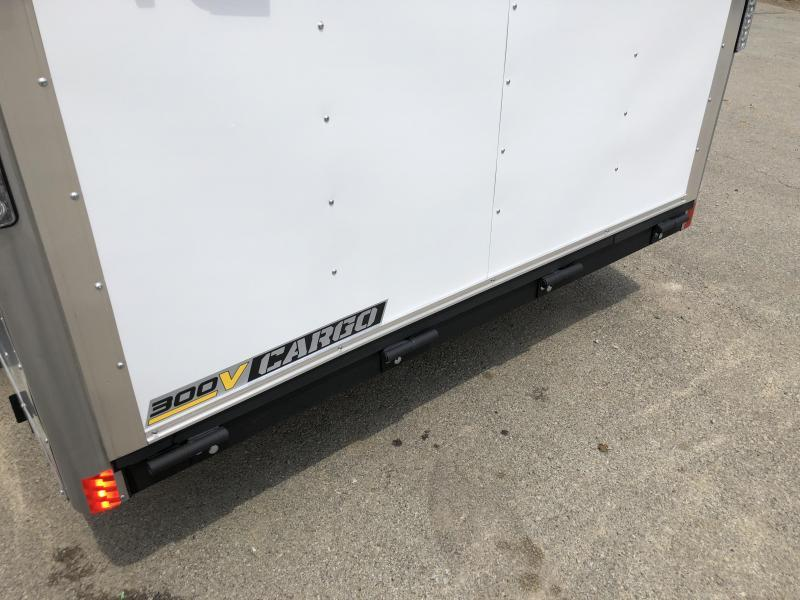 2018 Wells Cargo 7x16' VG300 Enclosed Cargo Trailer 7000# GVW * WHITE * CLEARANCE PRICED