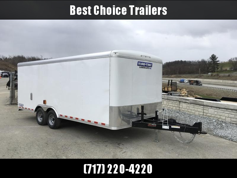 2018 Sure-Trac STRLP 8.5x20 Landscape Pro Enclosed Cargo Trailer BRICKMAN SPEC ULTIMATE LANDSCAPE TRAILER