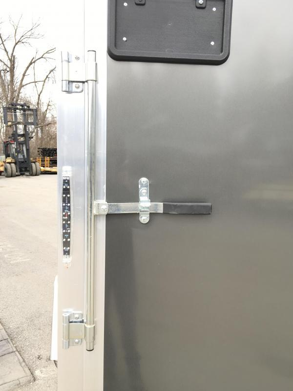 2019 Neo 6x12 NAVF Aluminum Enclosed Cargo Trailer * RAMP DOOR * CHARCOAL