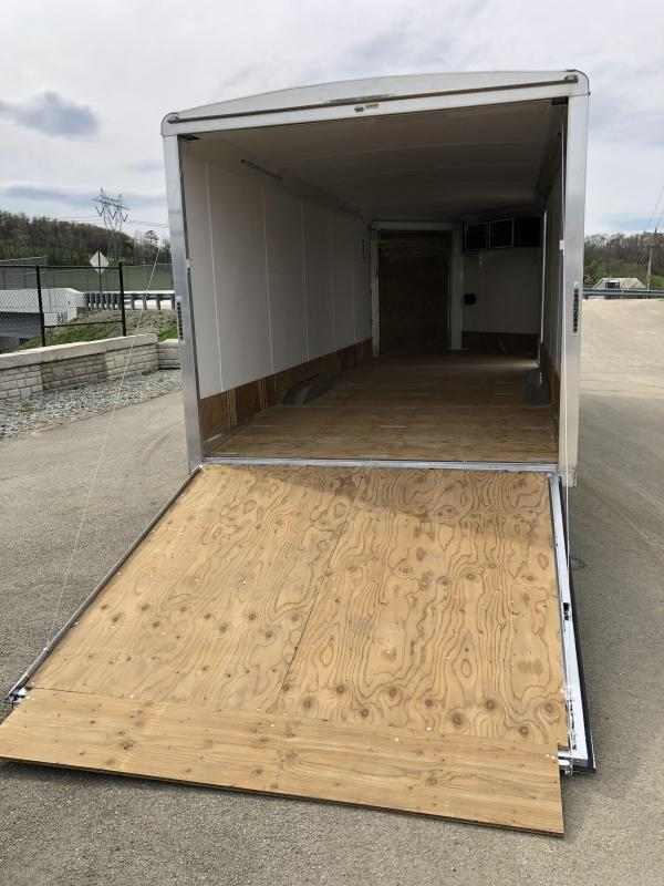 2019 NEO 8.5x22' NMS Aluminum Round Top Enclosed All Sport Car Hauler Trailer 9990# GVW NMS2285TR * LOADED