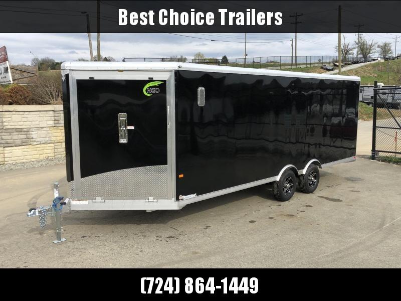 2019 NEO 8.5x22' NMS Aluminum Round Top Enclosed All Sport Car Hauler Trailer 9990# GVW NMS2285TR * LOADED in Ashburn, VA