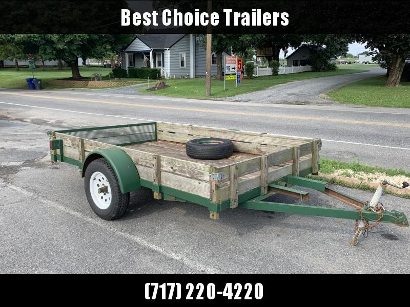 1992 Custom Fab Trade In Utility Trailer in Ashburn, VA