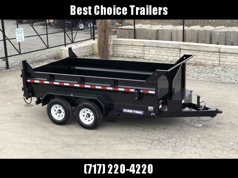 2019 Sure-Trac 7x12' LowPro Dump Trailer 9900# * DUAL PISTON - BASE in Ashburn, VA