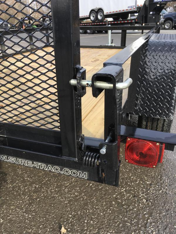 2018 Sure-Trac 5x8' Angle Iron Utility Trailer 2990# GVW