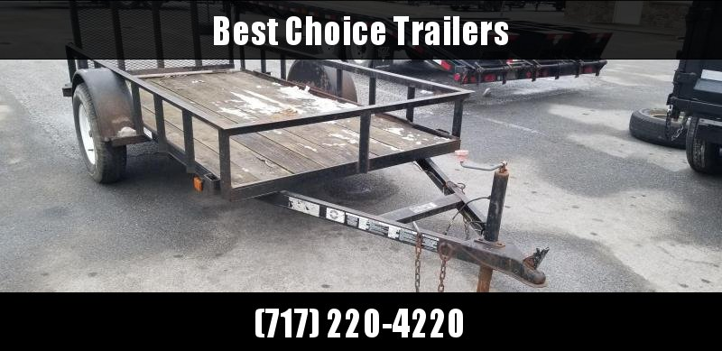 USED 2003 10' Carry On Utility Landscape Trailer 2990# GVW