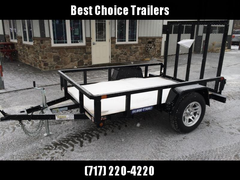 2018 Sure-Trac 5x8' Tube Top Utility Landscape Trailer 2990# GVW