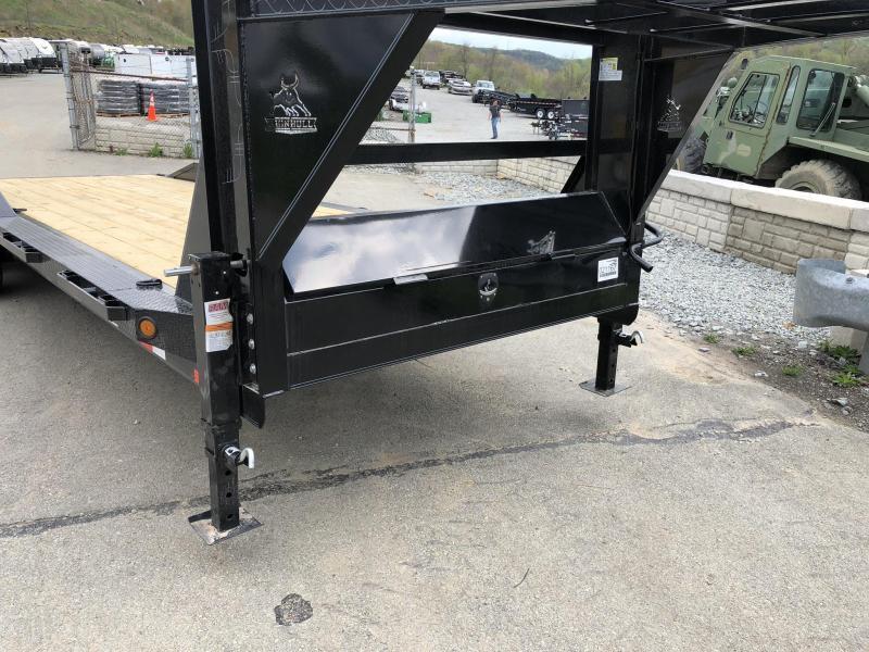 """2019 Ironbull 102x26' Gooseneck Car Hauler Equipment Trailer 14000# GVW * 102"""" Deck * Drive Over Fenders"""