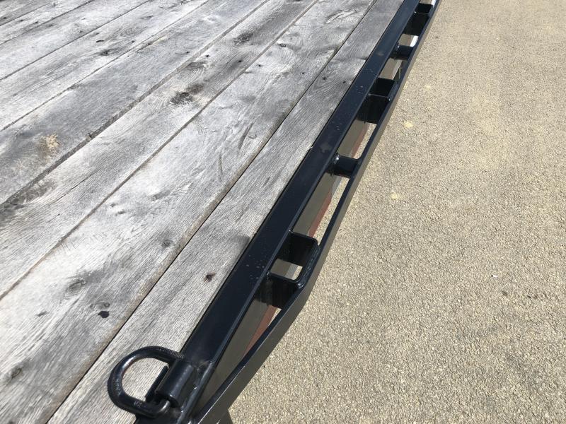 2018 Sure-Trac 102x22' Power Tilt Deckover 17600# GVW * WINCH PLATE * OAK DECK