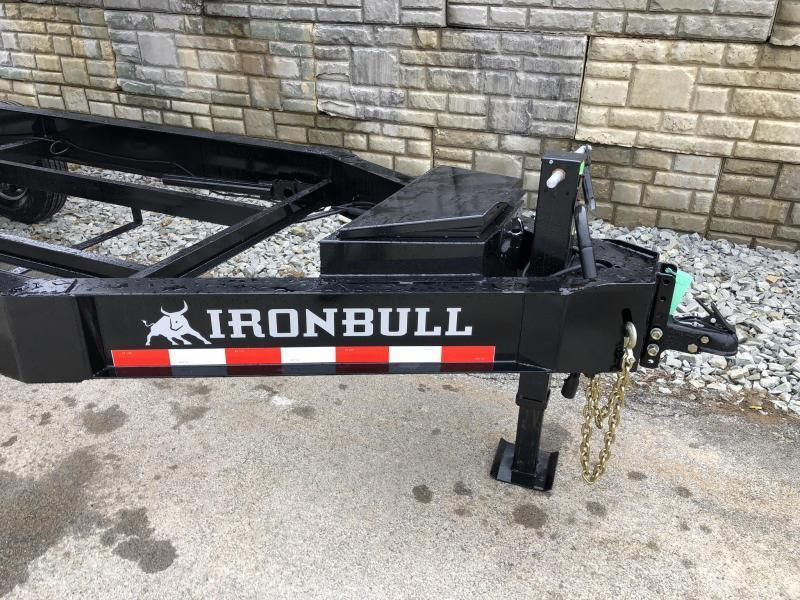 2019 Iron Bull 8x14' 14000# GVW Deckover Dump Trailer * TARP KIT * SCISSOR HOIST * I-BEAM FRAME * 12K JACK * HD COUPLER * FOLD DOWN SIDES