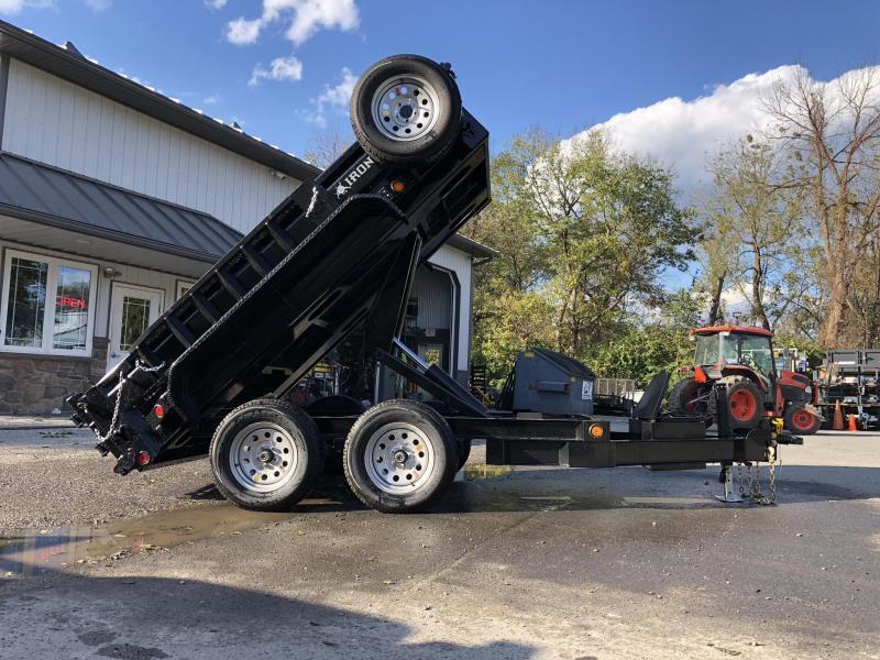 """2019 Iron Bull 5x10' Dump trailer 9990# GVW DTB6010052 * 5"""" HOIST * TARP KIT * RAMPS * I-BEAM FRAME #LIL BEAST"""