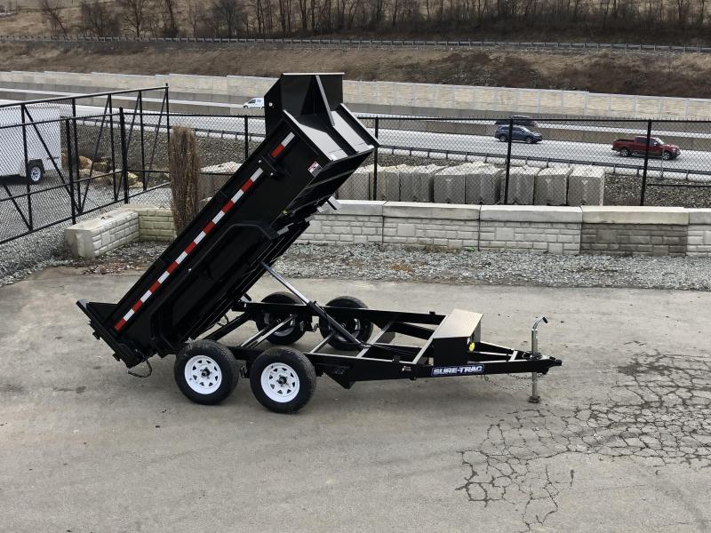 2019 Sure-Trac 6x10' LowPro Dump Trailer 7000# GVW