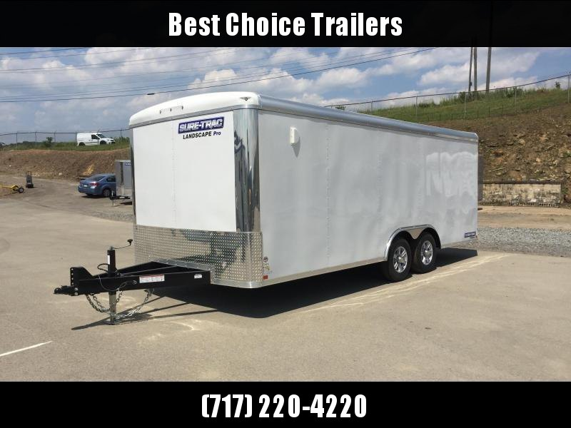 2019 Sure-Trac 8.5x20' STRLP Landscape Pro Package Trailer 9900# GVW