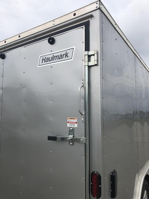 USED 2018 Haulmark 8.5x16' Enclosed Trailer 7000# GVW