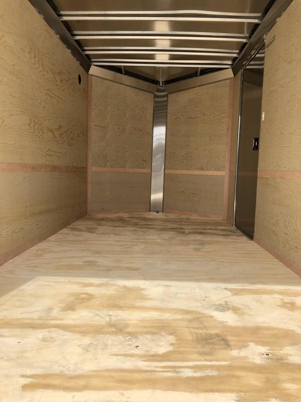 2020 Neo 6x12 NAVF Aluminum Enclosed Cargo Trailer * RAMP DOOR * CHARCOAL * ALUMINUM WHEELS