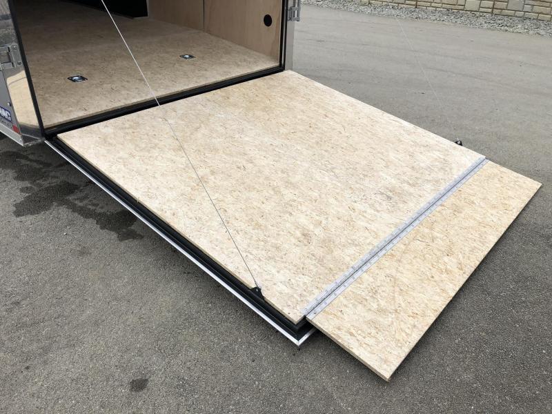 2019 Sure-Trac 8.5x24' Enclosed Car Trailer 9900# GVW * SILVER