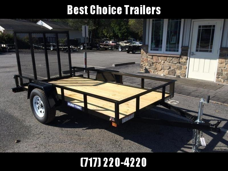 2019 Sure-Trac 6x12' 2990# GVW Angle Iron Landscape Utility Trailer  in Ashburn, VA