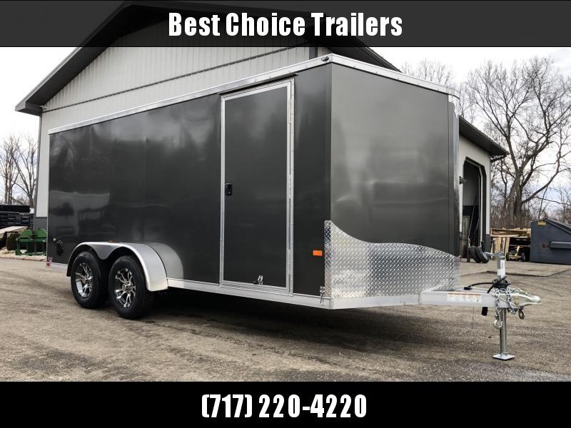 2019 Neo 7x16 NAVF Aluminum Enclosed Cargo Trailer * RAMP DOOR * SIDE VENTS * ALUMINUM WHEELS in Ashburn, VA