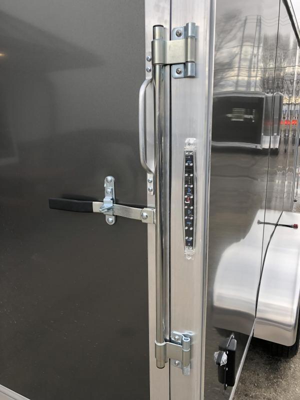 2019 Neo 7x16 NAVF Aluminum Enclosed Cargo Trailer * RAMP DOOR * SIDE VENTS * ALUMINUM WHEELS