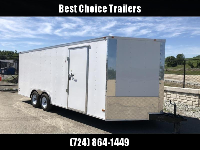 2018 Freedom 8.5x24' Enclosed Car Trailer 7000# GVW